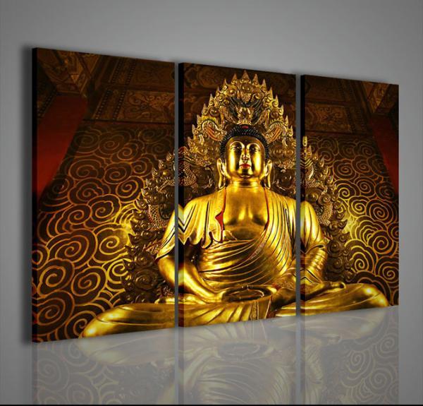 Quadri moderni quadri etnici buddha vi stampe su tela for Tele d arredo