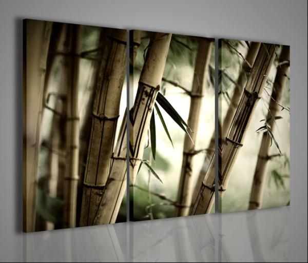 Quadri moderni quadri etnici oriental bamb stampe su for Stampe d arredo
