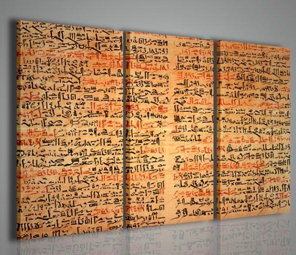 Quadri Moderni-Quadri Etnici-Egyptian Papyrus | Stampe su tela ...