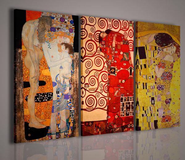 Quadri moderni quadri pittori famosi klimt ix memorial for Pittori astratti moderni