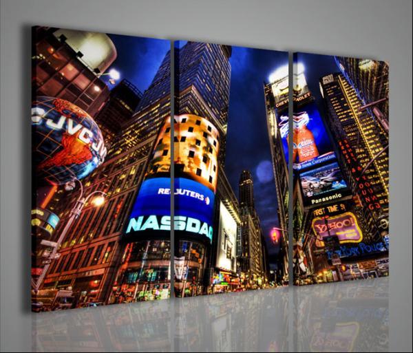 Quadri Moderni-Quadri di Città-New York Times Square III ...