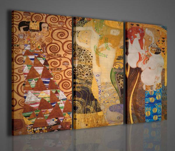 Quadri moderni quadri pittori famosi klimt iv memorial for Quadri moderni famosi