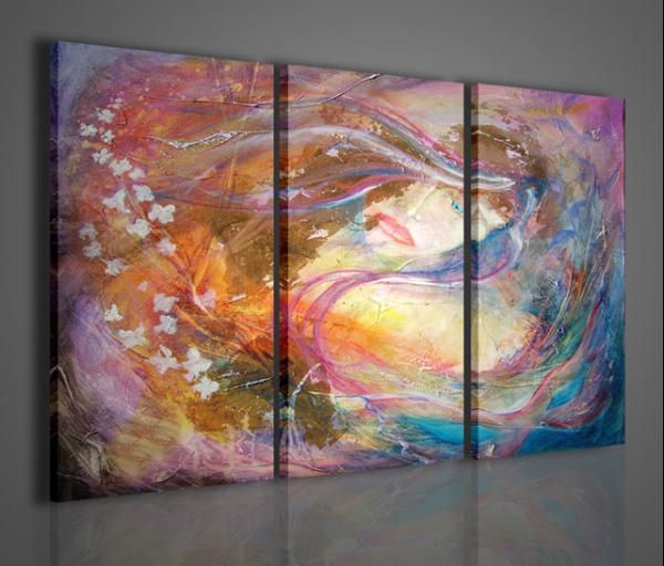 Quadri moderni quadri astratti passione stampe su tela for Stampe d arredo