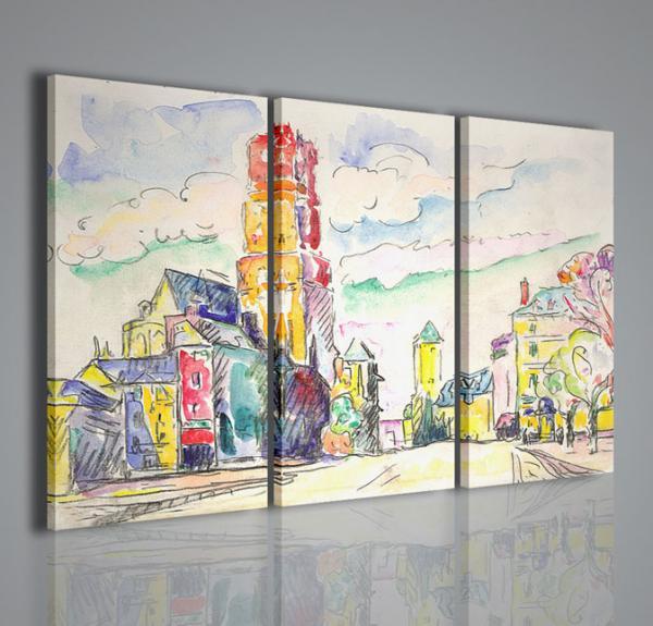 Quadri moderni quadri pittori famosi paul signac ii for Quadri astratti famosi