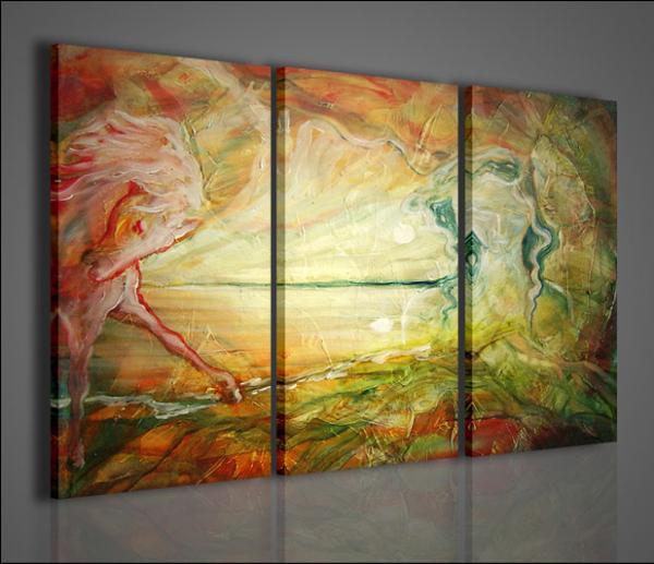 Quadri moderni quadri astratti mirror stampe su tela quadri moderni per arredamento casa - Quadri arredamento casa ...