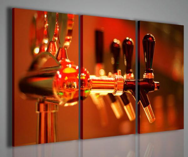 Quadri moderni quadri food drink wine bar stampe su for Stampe su tela ikea