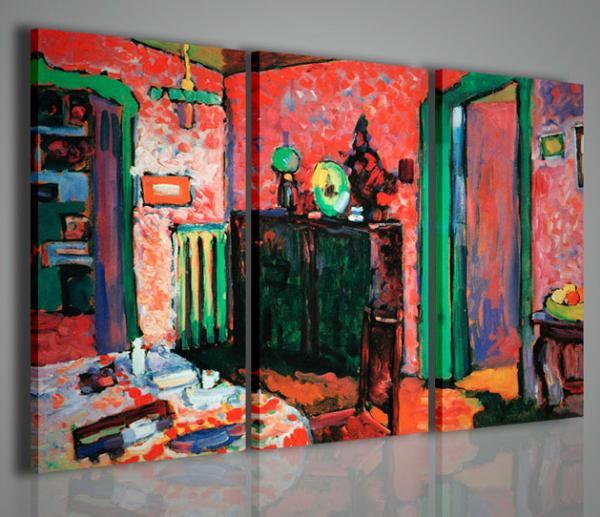 Quadri moderni quadri pittori famosi vi stampe su tela - Quadri arredamento casa ...
