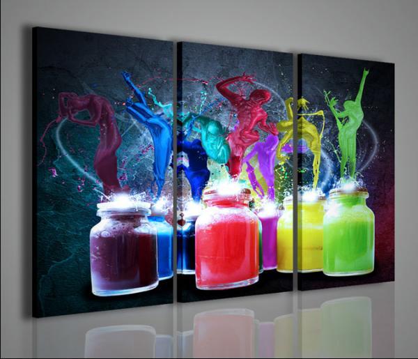 Quadri Moderni-Quadri Alternativi-Shapes and Colours   Stampe su ...
