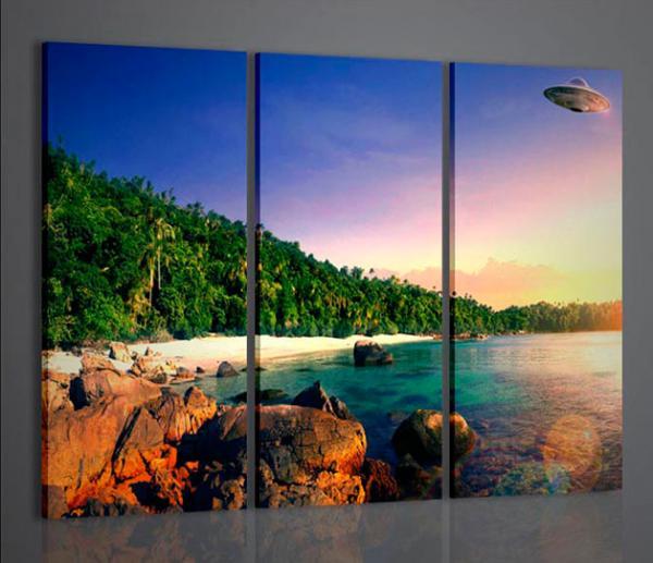 Quadri moderni quadri di natura e paesaggi ufo abstract for Arredamento natura