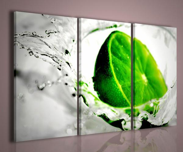 Quadri Moderni Per Ufficio : Quadri moderni quadri food drink lime stampe su tela quadri