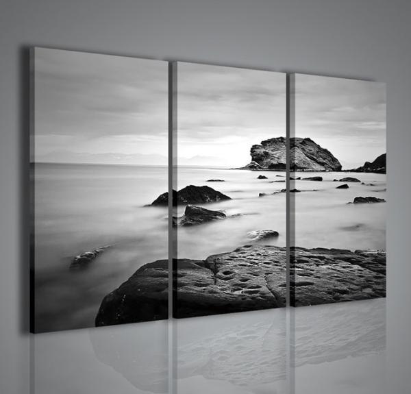 Quadri moderni quadri di natura e paesaggi sea gradient stampe su tela quadri moderni per - Quadri per arredare casa ...