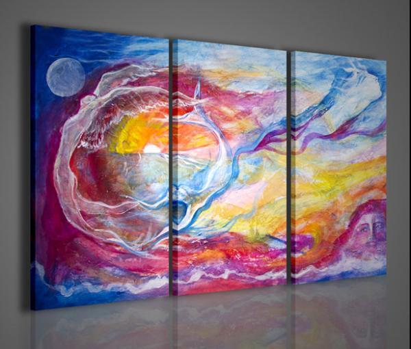 Quadri Moderni-Quadri Astratti-Sea and Sky | Stampe su tela ...