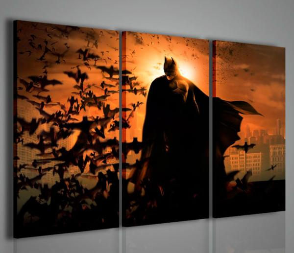 Quadri Moderni-Quadri Cinema-Batman III | Stampe su tela, quadri ...