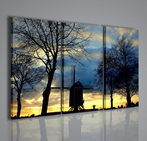 Quadri Moderni-Quadri di Natura e Paesaggi-Wind mill ...