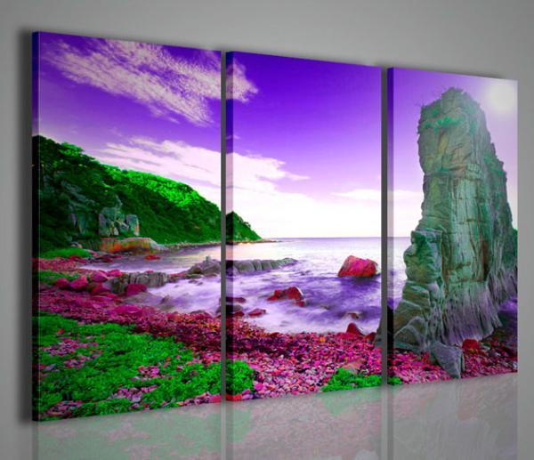 Quadri Moderni-Quadri di Natura e Paesaggi-Summer Rock | Stampe su ...