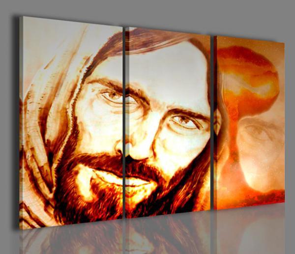 Quadri moderni quadri religiosi ges la speranza stampe su tela quadri moderni per - Quadri per casa ...