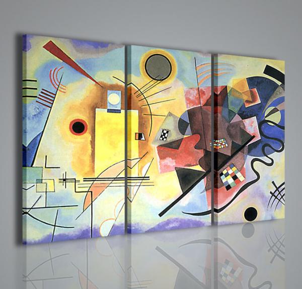 Quadri moderni quadri pittori famosi kandisky x stampe su tela quadri moderni per arredamento - Quadri per arredare casa ...
