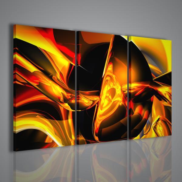 Stampe su tela quadri moderni per arredamento casa for Stampe quadri astratti